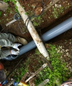 排水管埋設03