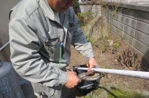 20131002小倉南区水漏れ給湯02