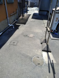小倉北区排水汚水詰まり高圧洗浄全体